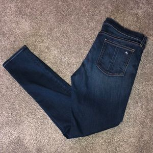 Rag and bone ankle jeans